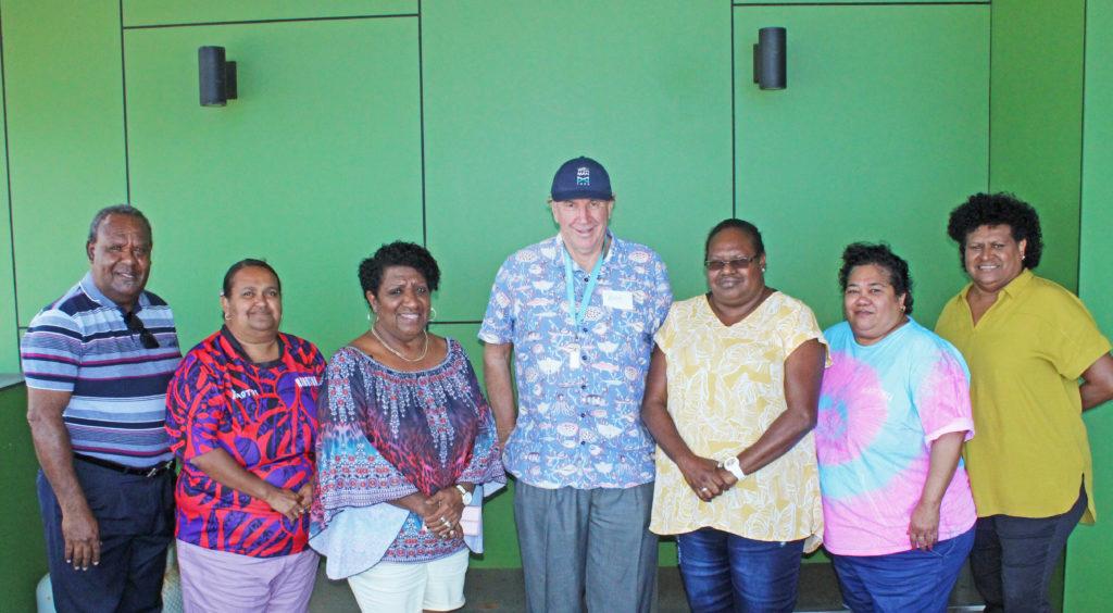 TSIMA Board Members on Thursday Island